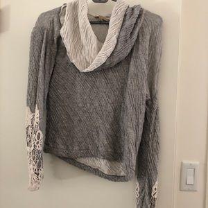 Anthropologie Cropped Sweatshirt
